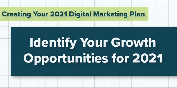 Creating Your 2021 Digital Marketing Plan; Identify Your Growth Opportunities for 2021