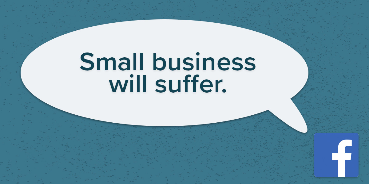 Pay Attention to the Facebook and Apple Feud; Small Business Will Suffer