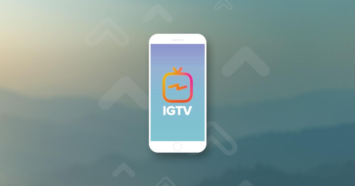 Goodbye TV and YouTube, Hello IGTV