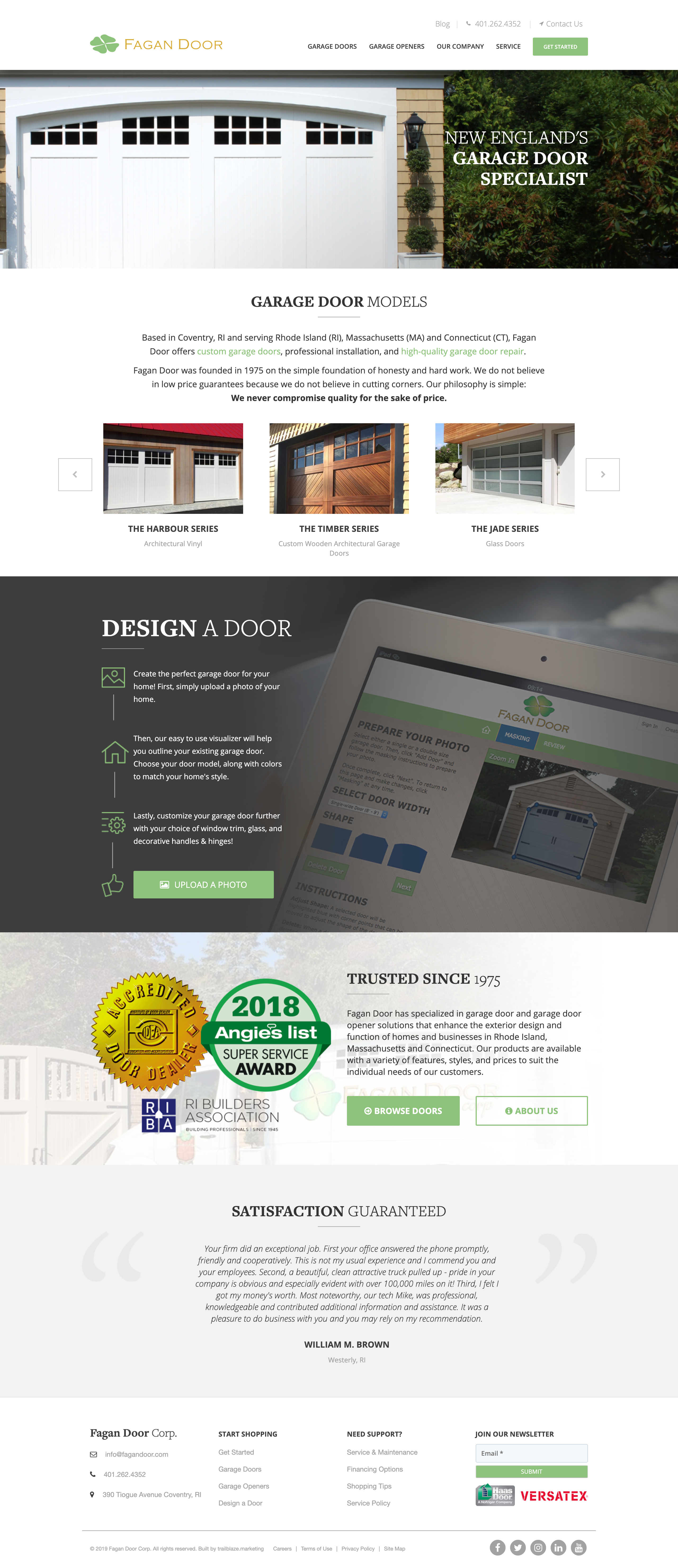 Homepage-FaganDoor