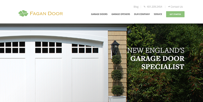 Fagan Door Website